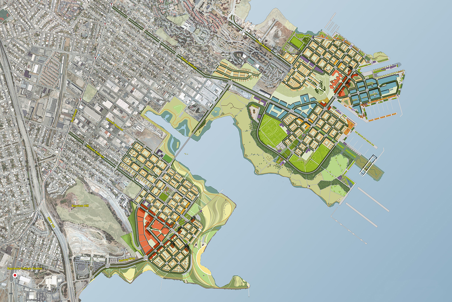 Candlestick Point/Hunters Point Shipyard Master Plan