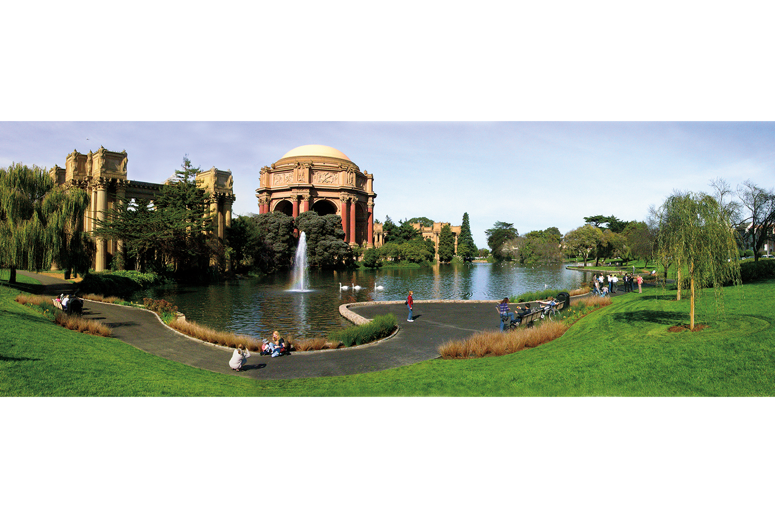 Palace of Fine Arts Landscape and Lagoon Rehabilitation