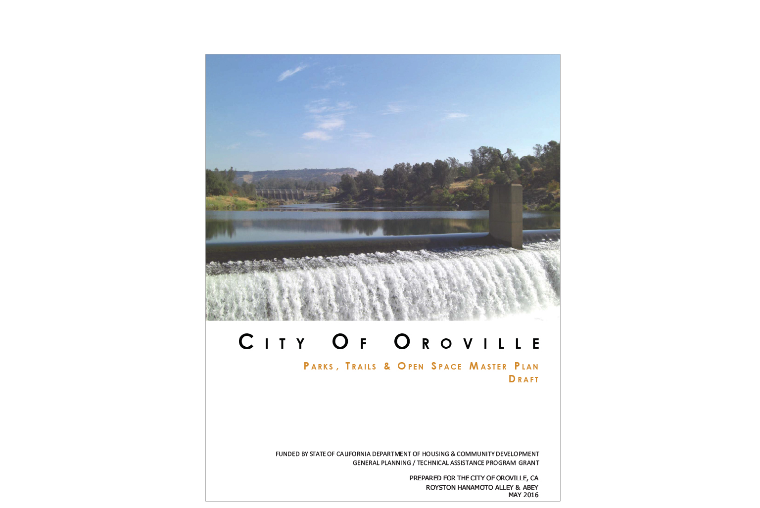 Oroville Parks, Trails, and Open Space Master Plan
