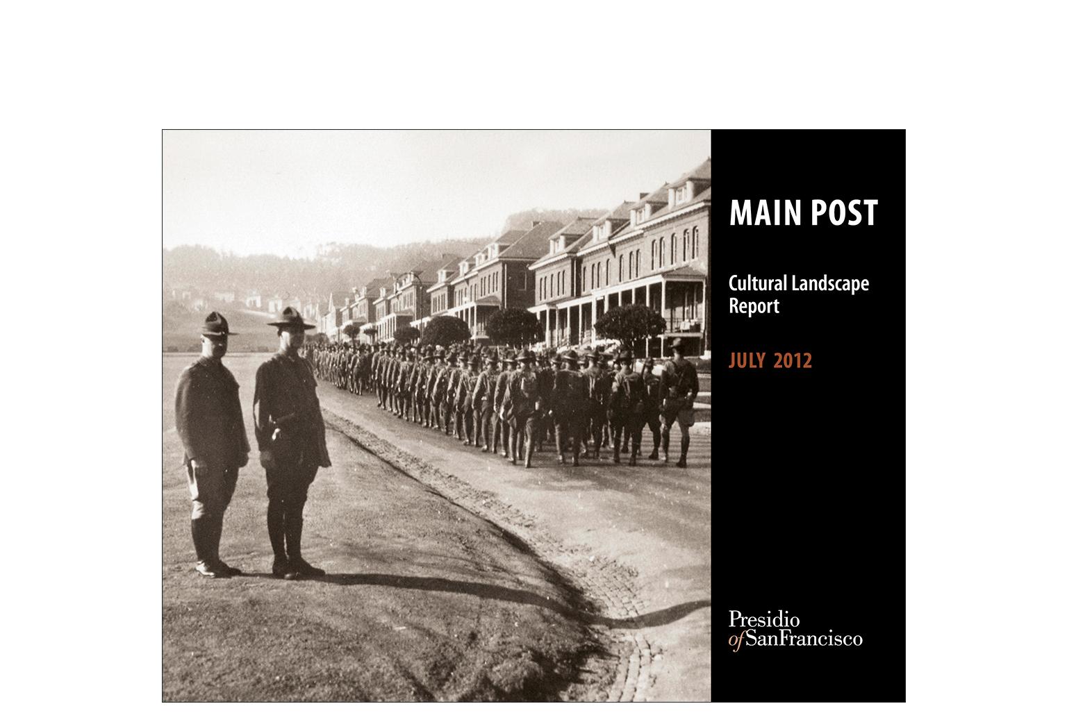 Presidio Main Post Cultural Landscape Report