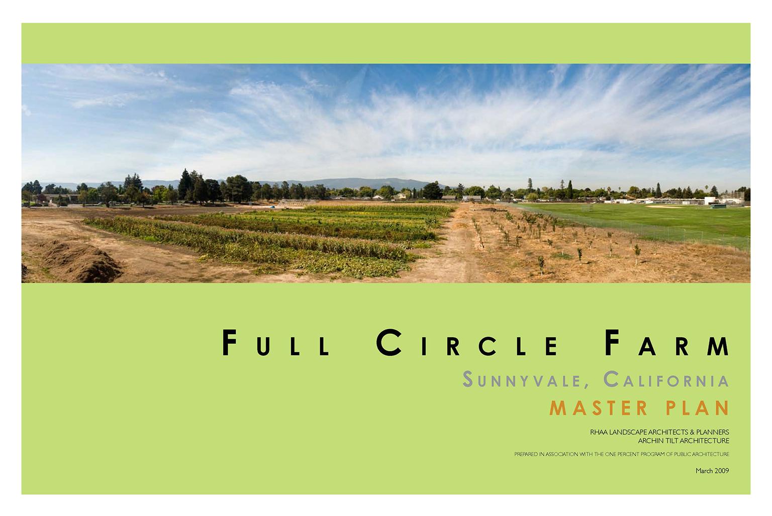 Full Circle Farm Master Plan