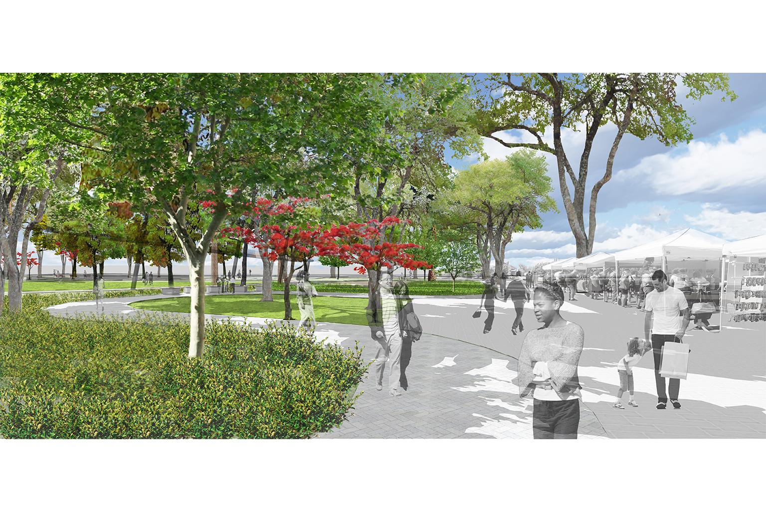 Hayward's Historic Plaza and Arboretum