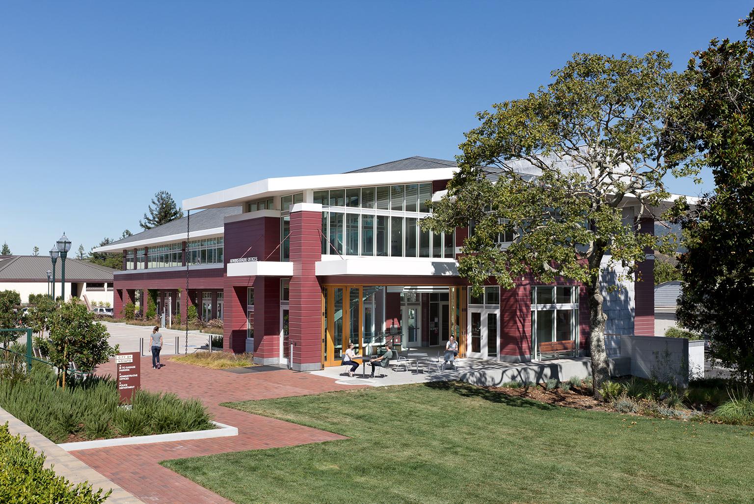 Novato Civic Center City Administration Office Building