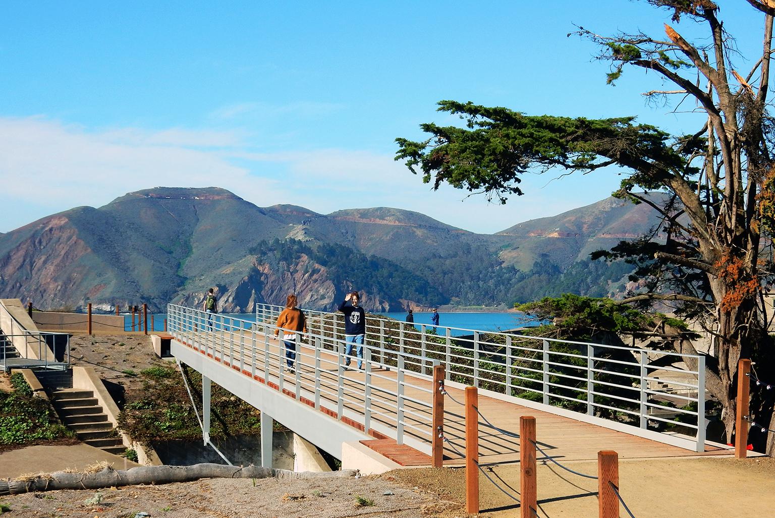 GGNRA Marcus Miller Bridge + Trail