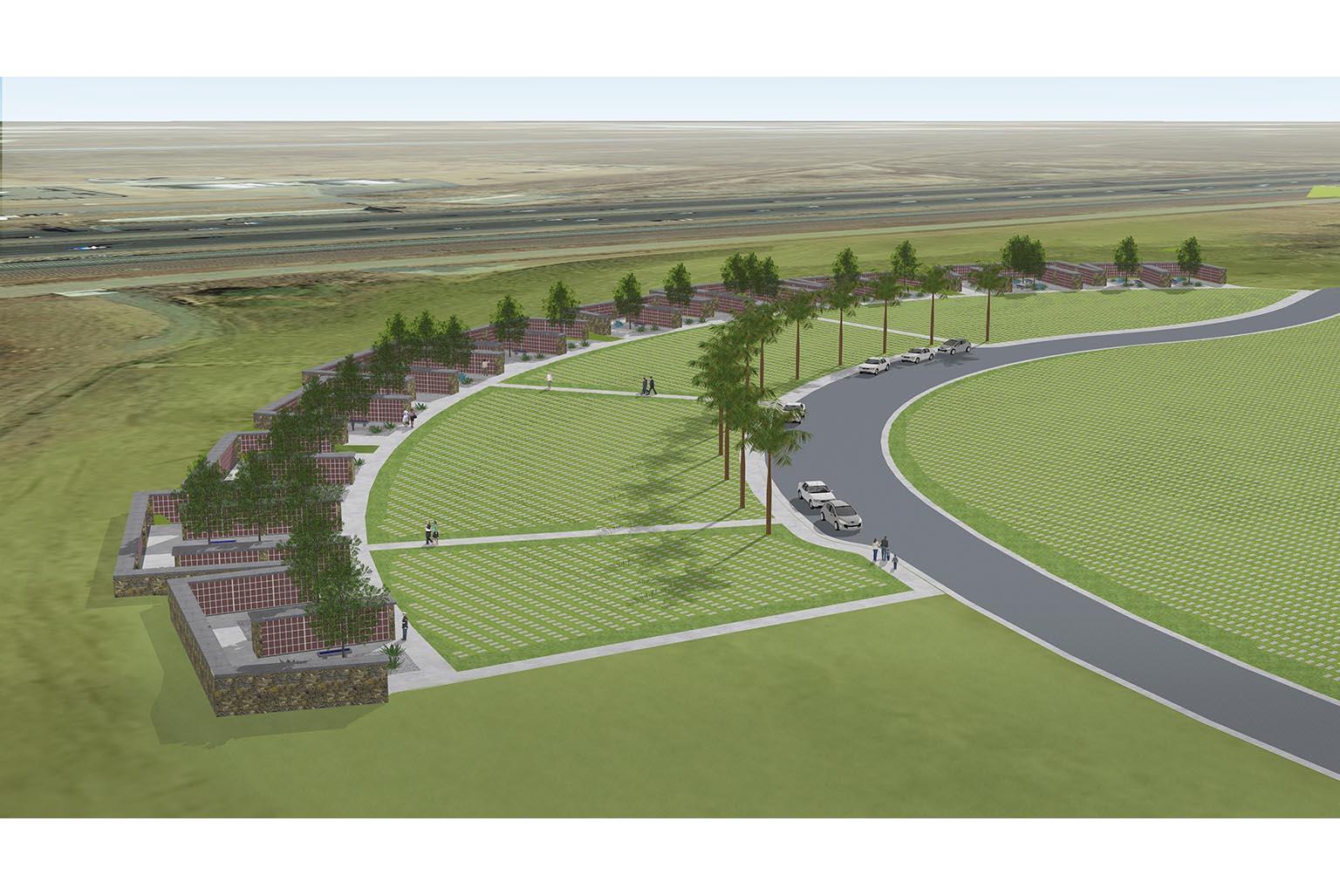 Riverside National Cemetery Phase 5