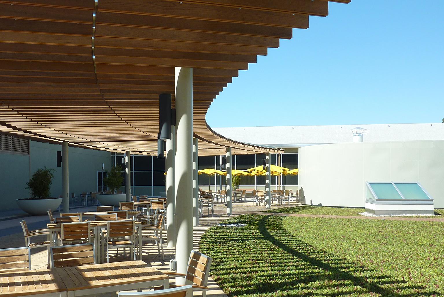 International Technology Campus, Green Roof