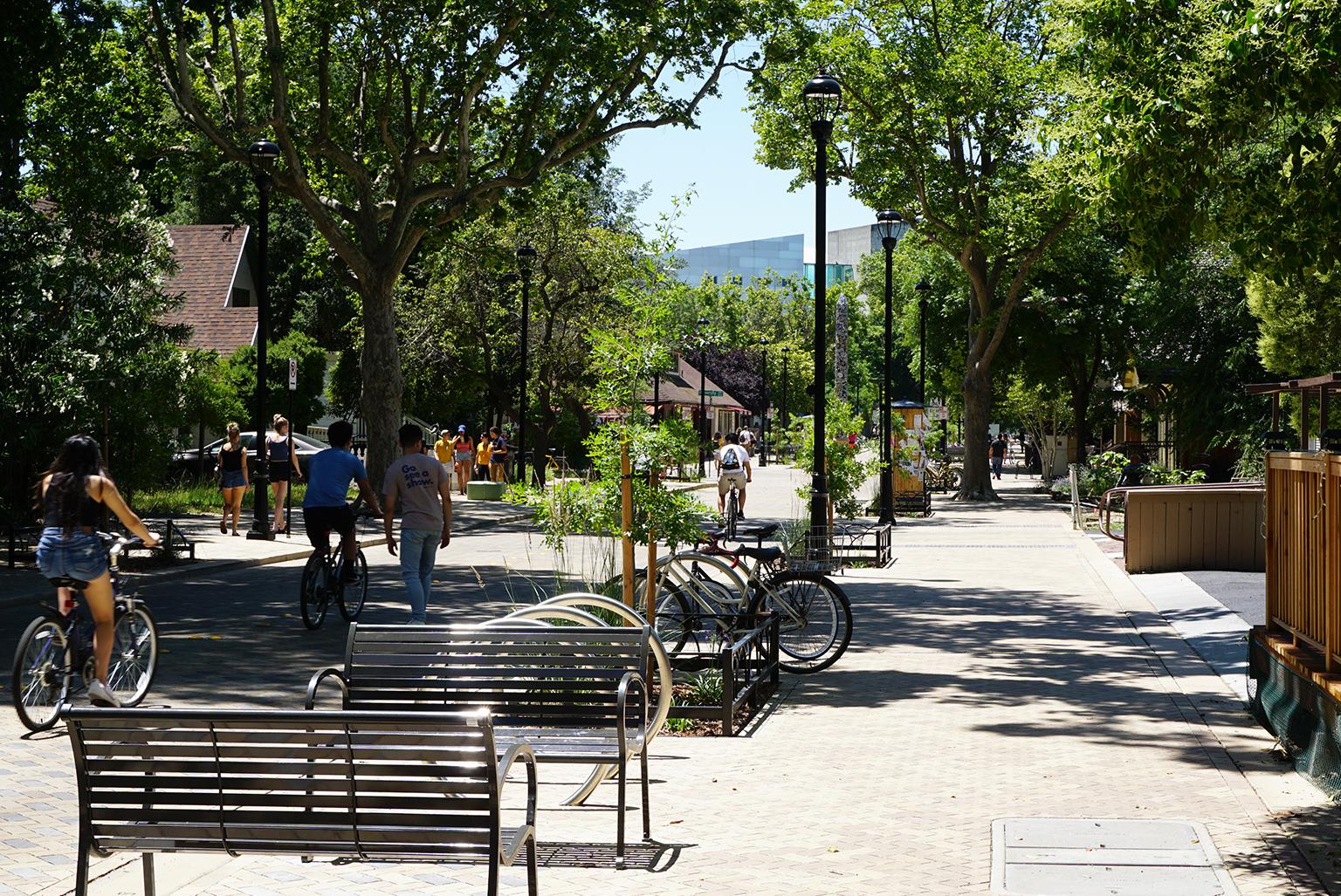 Davis Third Street Improvements and UC Gateway