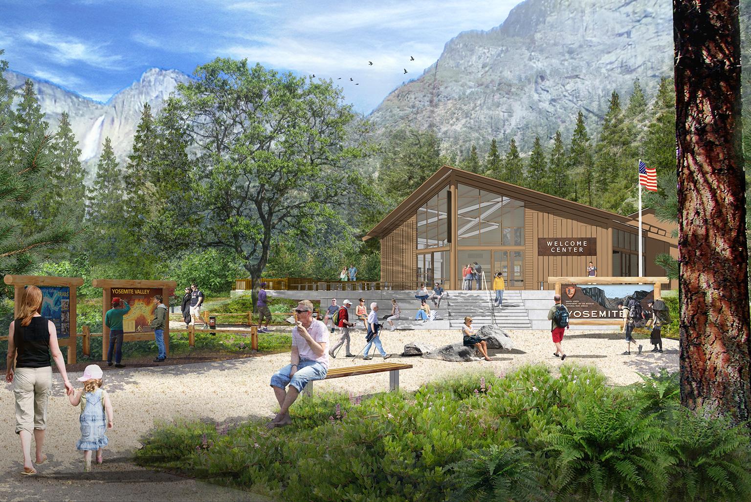Yosemite Village Welcome Center