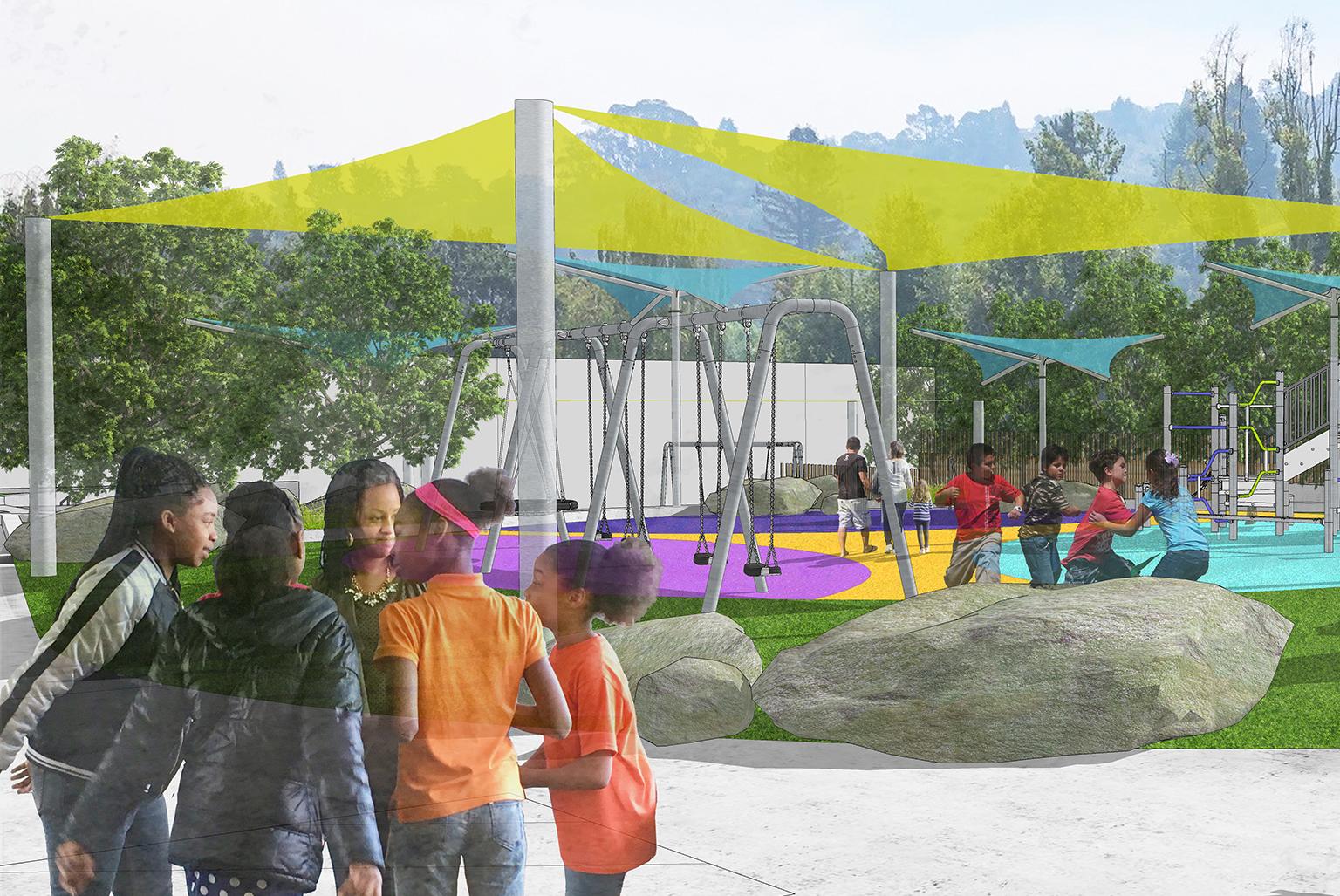 Marin Horizon Playground Renovation